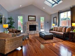 window treatments fireplace in between patio doors sofa brown rug