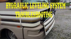 hydraulic jacks leveling system troubleshooting fleetwood bounder