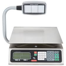 tor rey pc 80lt 80 lb digital price computing scale with tower