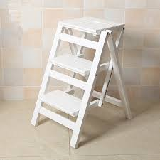 online shop multi functional ladder stool chair bench seat wood