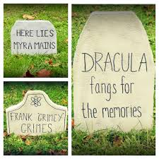 halloween tombstones to diy for so pretty is as pretty does
