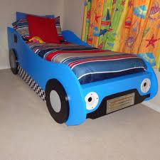 Car Bedroom Ideas Blue Race Car Toddler Bed Ktactical Decoration