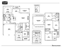 Floor Plans Images The Bridgeport Floor Plans Goodall Homes