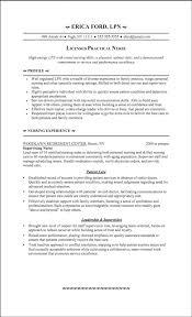 Resume Sample For Staff Nurse by Trendy Design Ideas Lpn Resumes 3 Lpn Resume Examples Staff Nurse