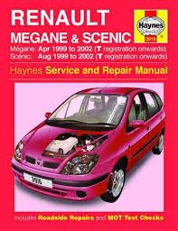 renault megane and scenic haynes workshop car manuals repair