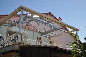 vitrage toiture veranda veranda toit plat avec dome en verre cannes 06 antibes mandelieu
