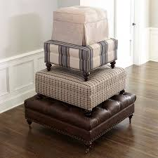 Square Ottomans Custom Square Ottoman Bassett Furniture