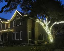residential christmas lighting installation in austin plantscape