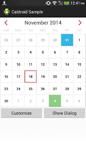 github roomorama caldroid a better calendar for android