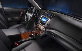 toyota highlander 2016 interior 2014 toyota highlander hybrid information and photos zombiedrive