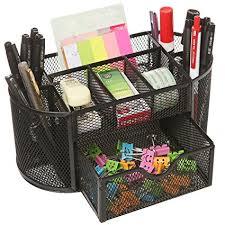 wire mesh desk organizer callas metal mesh desk organizer black ld 708 05 amazon in office