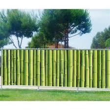 cloture de jardin pas cher superbe cloture jardin pas cher 1 panneau brise vue pvc achat