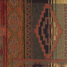 Upholstery Fabric Southwestern Pattern Sedona Canyon Chenille Fabric Southwestern Kokopelli Upholstery