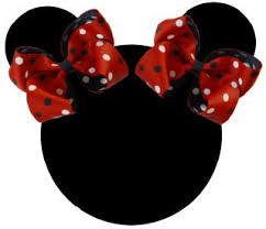 minnie mouse hair bow hair bows minnie mouse hair bow