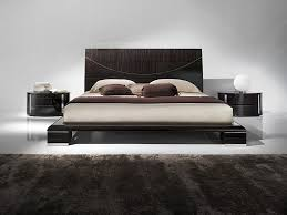 bedroom trendy modern bedroom sets with contemporary beds black trendy modern bedroom sets with contemporary beds black wooden platform bed with high headboard white brown colors bedding sheets black gloss color bedside