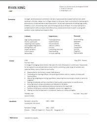Chef Resume Templates by Chef Resume Templates Chef Resume 4 Sous Chef Cv Templates