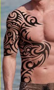 tribal chest tattoos tribal chest designs for tribal