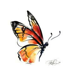 42 best abstract watercolor butterfly tattoo images on pinterest