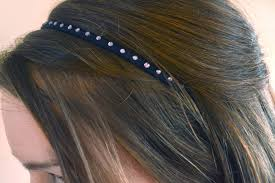 rhinestone headbands diy rhinestone headbands