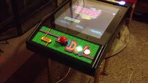 Galaga Arcade Cabinet Mr Do U0026 Galaga Mini Cocktail Arcade Cabinet Youtube