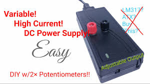 High Voltage Bench Power Supply - 5 easy steps diy adjustable dc bench power supply variable with 2x