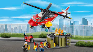 Unit 60108 Fire Response Unit Lego City Products And Sets Lego Com