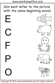 Beginner Reader Worksheets Beginning Sound 7 Worksheets Preschool Worksheets Pinterest Inside