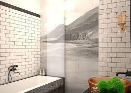 bathroom subway tile ideas subway tiles in 20 contemporary bathroom design ideas rilane