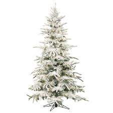 decoration ideas wonderful flocked artificial tree with
