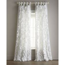 White Ruffle Curtains Ruffled Curtain 100 Images How To Make Ruffled Curtains