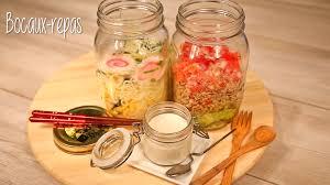 bocaux cuisine idée cuisine les repas en bocaux modes travaux