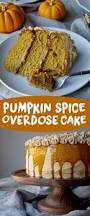 pumpkin spice overdose cake recipe the batter thickens