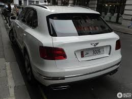 2017 bentley bentayga white bentley bentayga 16 november 2017 autogespot