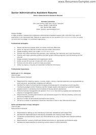 administrative assistant resume skills profile exles sles of executive assistant resumes