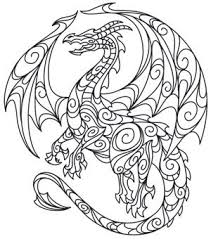 268 dragons images coloring books dragon