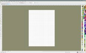 how to turn on the document grid so it appears only within the
