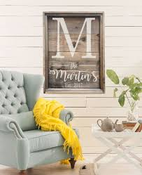 wedding gift name sign family established sign last name sign large farmhouse sign