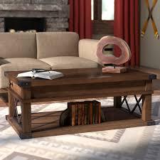 lift top coffee table with wheels loon peak fusillade lift top coffee table reviews wayfair
