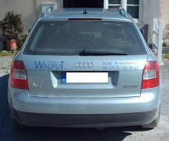 2007 Audi Avant File Audi A4 B6 Avant Rear Jpg Wikimedia Commons