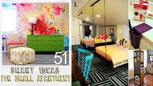 Decorating Ideas For Apartment Living Rooms 51 Smart Decor Ideas For Small Apartment Youtube