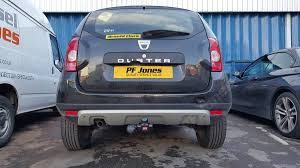 renault duster 2014 dacia duster 2012 2014 witter flange tow bar