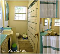 our white tan u0026 turquoise bathroom the abundant wife