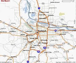 map of oregon portland map of portland oregon travelsmaps