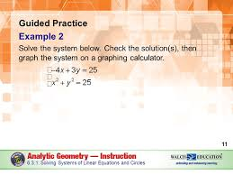 guided practice example 2 solve the system below