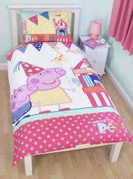 Betty Boop Duvet Set Peppa Pig Funfair Single Panel Duvet Quilt Cover Kids Reversible