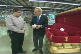 matthews casket company inside the casket company