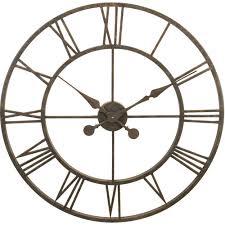 wrought iron wall clock l28 30 clockshops com