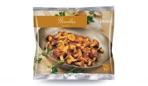 comment cuisiner les girolles fraiches girolles surgelés les légumes picard