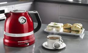 Red Kettle And Toaster Red Kettle Red Teapot Red Tea Kettle Kitchenaid