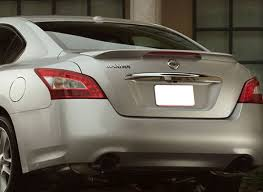 nissan maxima painted rear spoiler with light 2009 2010 2011